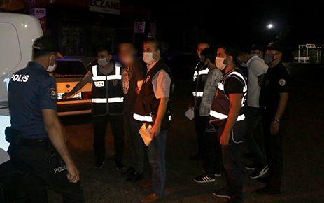 Kahramanmaraş'ta değişik suçlardan aranan 3 kişi yakalandı