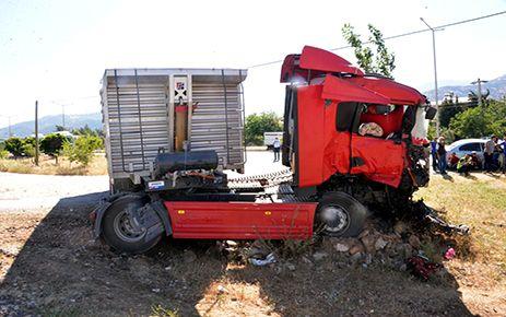 Kahramanmaraş'ta hemzemin geçitte kaza: 1 ölü