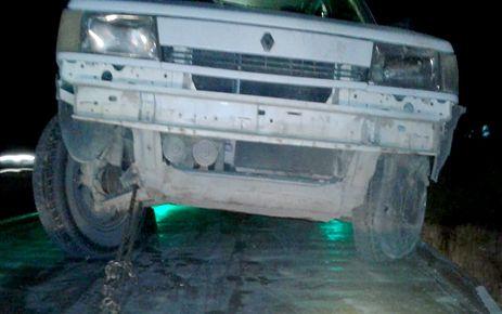 Kahramanmaraş'ta köpeğe çarpmamak için kaza yaptı
