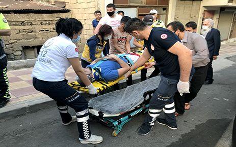 Kahramanmaraş'ta motosiklete çarpan sürücü kaçtı
