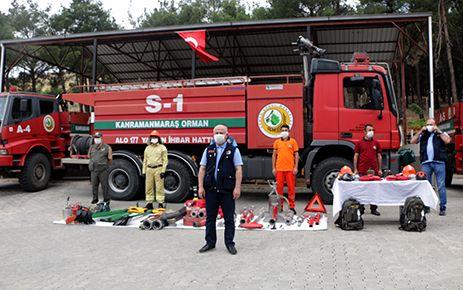 Kahramanmaraş'ta orman yangınlarıyla mücadele başladı