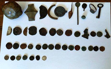 Kahramanmaraş'ta tarihi eser kaçaklığı