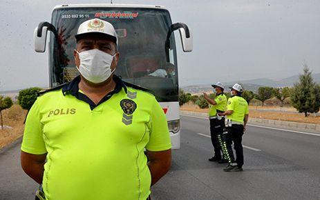 Kahramanmaraş'ta trafik denetimi