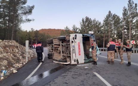 Kahramanmaraş'ta trafik kazası: 38 yaralı