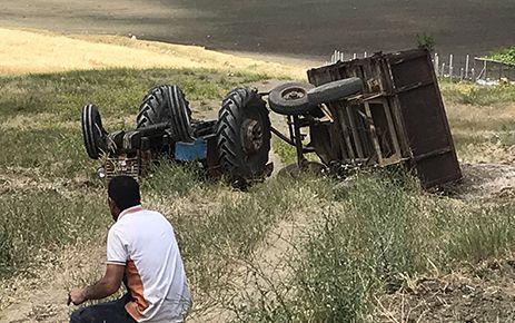 Kahramanmaraş'ta traktörün altında kalan kişi öldü