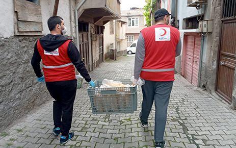 Kahramanmaraş'ta ücretsiz ekmek dağıtımı