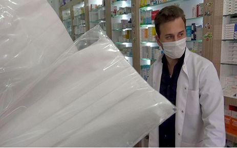 Kahramanmaraş'ta ücretsiz maske dağıtımı