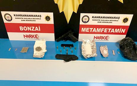 Kahramanmaraş'ta uyuşturucu operasyonu: 8 tutuklama