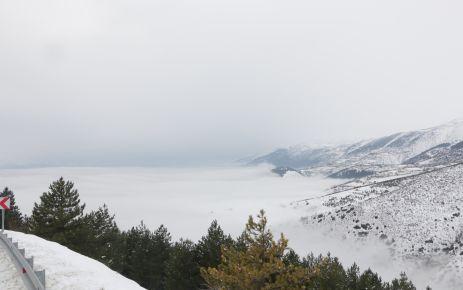 Kahramanmaraş'ta yoğun sis