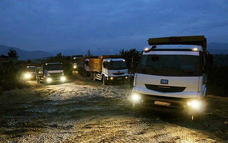 Kahramanmaraş'ta yol onarım çalışmaları