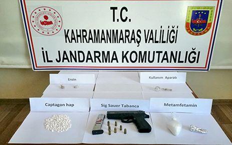Kahramanmaraş'taki uyuşturucu operasyonunda 3 kişi tutuklandı