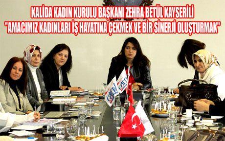 KALİDA KADIN KURULU, KAGİK'I ZİYARET ETTİ