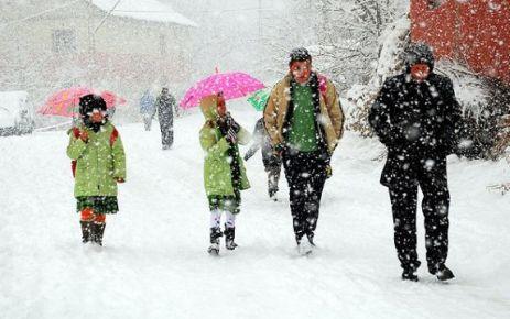 Kar tatili olan ilçeler