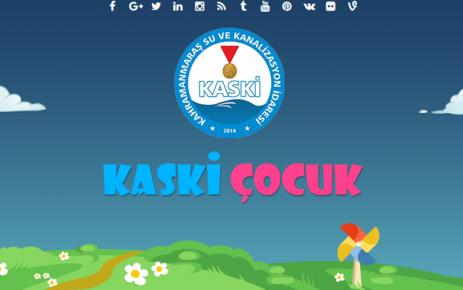 KASKİ'DEN ÇOCUKLARA ÖZEL WEB SİTESİ