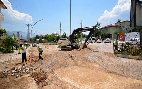 KASKİ'den Ekinözü'nde içme suyu çalışması