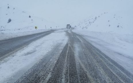 Kayseri yolu ağır vasıtalara kapatıldı