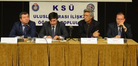 """KSÜ'DE """"ARAP BAHARI VE SURİYE"""" PANELİ"""