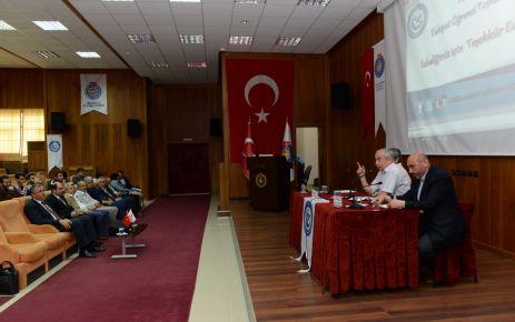 """KSÜ'DE """"HADİS'E DAİR"""" BAŞLIKLI PANEL DÜZENLENDİ"""