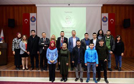 """KSÜ'DE 'KARİYER PLANLAMASI"""" KONULU KONFERANS VERİLDİ"""