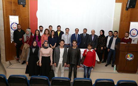 KSÜ'DE 'SAĞLIKTA KALİTE YÖNETİMİ VE GÜNCEL GELİŞMELER' KONFERANSI DÜZENLENDİ