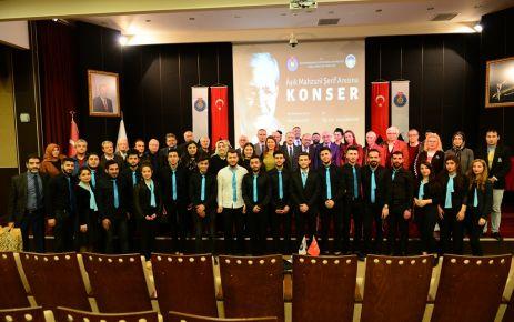 KSÜ'DE , ÂŞIK MAHZUNİ ŞERİF'KONSERİ
