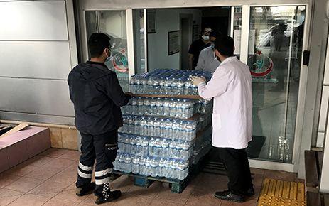 MADO'nun sağlıkçılara desteği devam ediyor