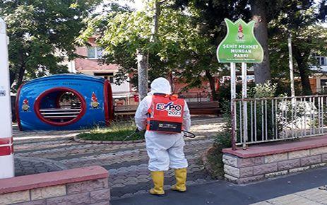 Onikişubat Belediyesi'nden izin öncesi temizlik