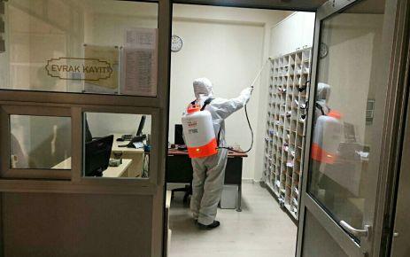 Onikişubat Belediyesinin dezenfekte çalışmaları devam ediyor