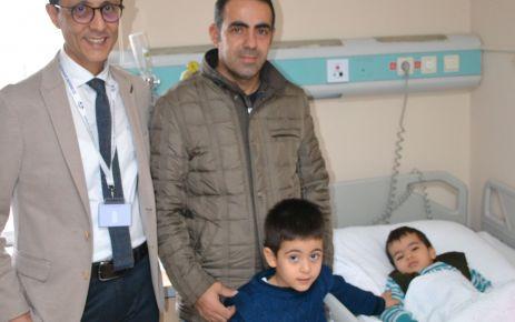 Özel Sular Vatan Hastanesi'nden böbrek taşı operasyonu