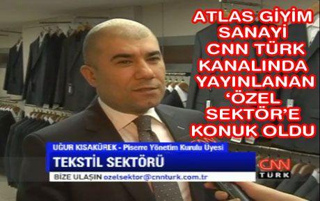PİSERRO CNN'YE KONUK OLDU
