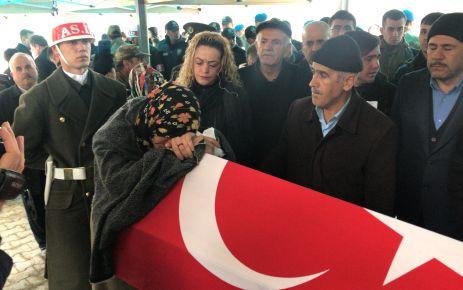 Şehit Saylak son yolculuğa uğurlandı