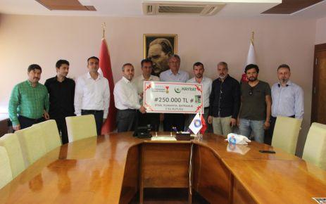 SOMALİ'YE YARDIM KAMPANYASI 250 BİN TL'YE ULAŞTI