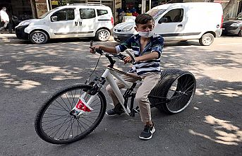 Otomobil lastikli bisiklet