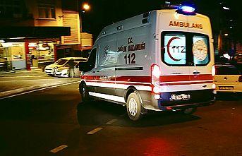 Silahlı saldırıda 1'i ağır 2 kişi yaralandı