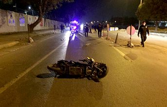 Bisiklette çarpıp kaçtı: 1 ölü