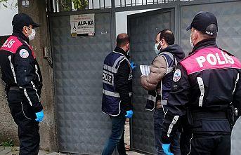 Aranması olan 56 kişi tutuklandı