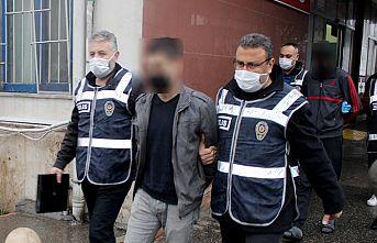Hırsızlık şüphelisi 17 kişi tutuklandı