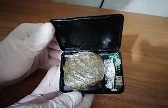 Powerbank içerisinde uyuşturucu zulası