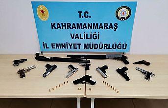 8 kişiden 9 silah ele geçirildi