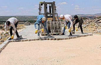 Pazarcık'taki ulaşım yatırımları devam ediyor