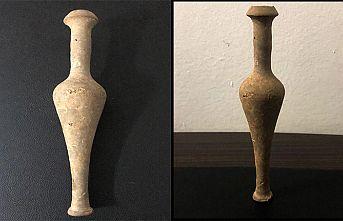 Tarihi koku şişesi ele geçirildi