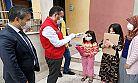 Elbistan ilçesinde gıda paketi dağıtımı