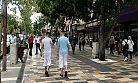 Kahramanmaraş'ta gençler cadde ve sokaklara akın etti