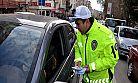 Polisten trafik düzeni ve güvenliği bilgilendirmesi