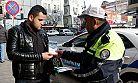 Suriyelilere broşürlü trafik eğitimi