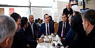 Başkan Güngör terminalde