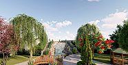 Büyükşehir'in park yapım çalışması