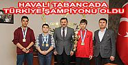 Kahramanmaraş takımı yine Türkiye şampiyonu