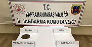 Kahramanmaraş'ta 3 ayrı uyuşturucu