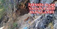 Kahramanmaraş'ta kazak kazı operasyonu